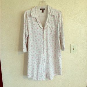 Lauren Ralph Lauren pajamas floral 💯 cotton shirt